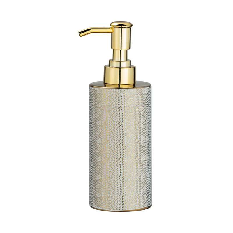 Nuria Gold White dozator za tečni sapun 300ml