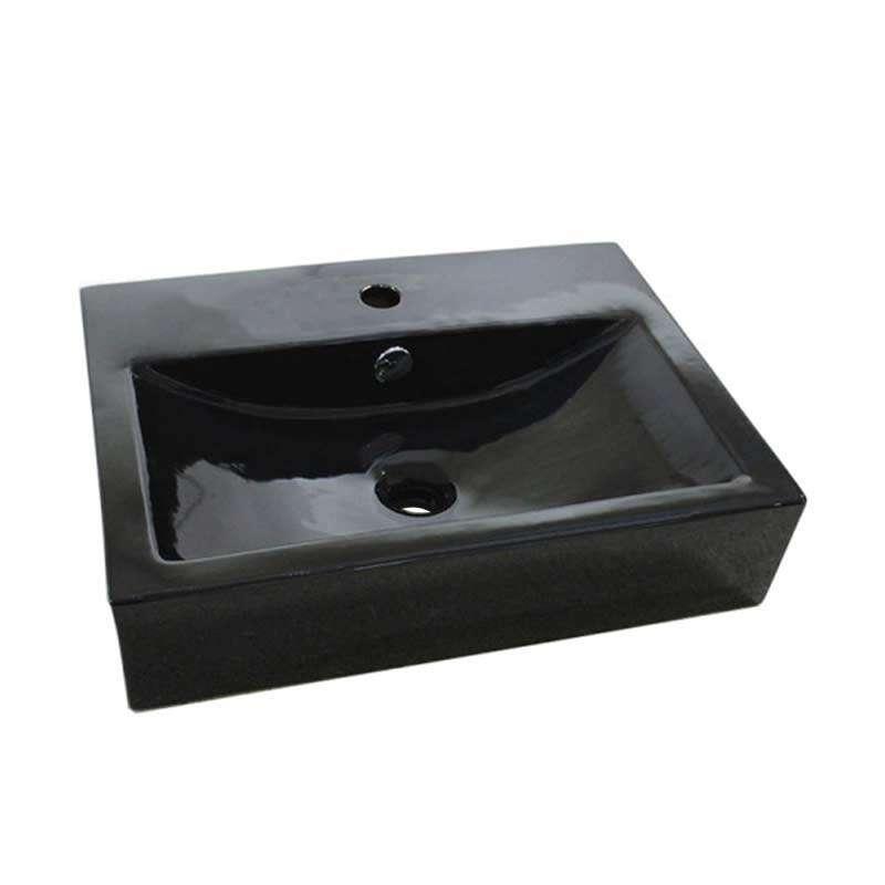 Berlin crni nadgradni lavabo