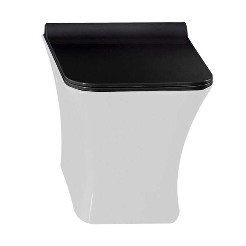 WC daska Valensija crna